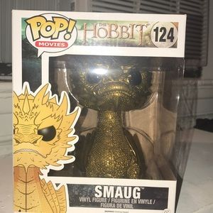 Funko Pop! Golden Smaug from The Hobbit Exclusive